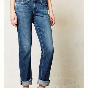AG Tomboy Boyfriend Jeans